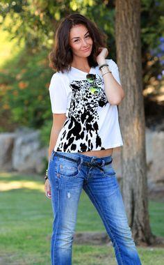 idkuva, STRAIGHT jeans, leather jacket, sunglasses, animal print, t-shirt, street style, street fashion, miau´s life, miauslife, muotiblogi, fashionblog, fashionblogger