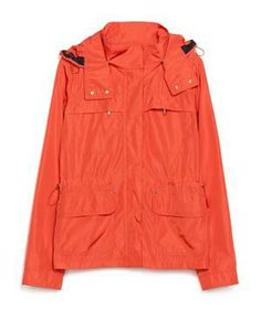 Zara Jacket With Pockets: Repelling raindrops without adding a heavy layer to warm-weather attire, this supremely lightweight pick can also be stashed easily in your tote following sudden showers.