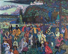 Wassily Kandinsky - Colourful Life