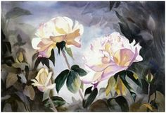 Free Watercolor Flower and Still Life Tutorials - Teach yourself how to create beautiful floral and still life watercolor paintings. Learn at your home at your own pace by following free online tutorials from talented watercolor artists. ( Painting: Joan Grout - Art.com )