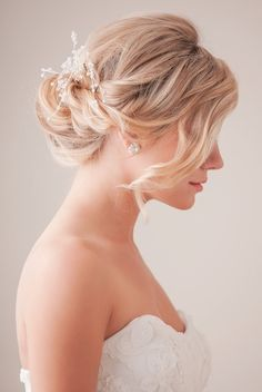 The #weddinghair up or down. That is the question...