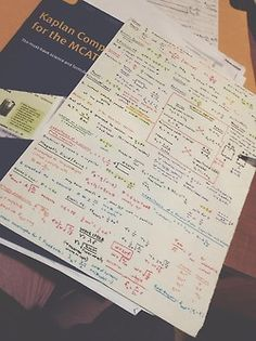 slytherinstudies:  his formula sheet for the physics section of the MCAT