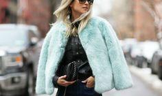 No soy un Yeti, ¡es mi nuevo abrigo peludo! Y tú, ¿eres amiga o enemiga de los abrigos peludos?