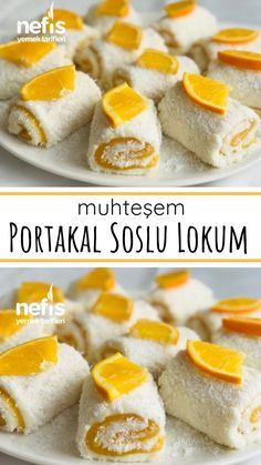Portakal Soslu Lokum – Nefis Yemek Tarifleri Tatlı tarifleri – The Most Practical and Easy Recipes Turkish Recipes, Italian Recipes, Lemon Brownies, Breakfast Recipes, Dessert Recipes, Turkish Sweets, Pasta Cake, Different Cakes, Food Platters