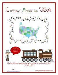 12 Hour Facebook Giveaway of a free copy of my Christmas Around The U.S.A. Unit/Curriculum