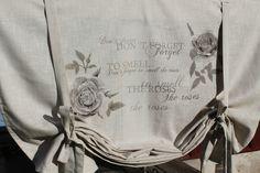 *JULIANA CAPPUCCINO*100/120/140/160*Scheiben Rollo Gardine*Shabby Chic*Curtain* de.picclick.com