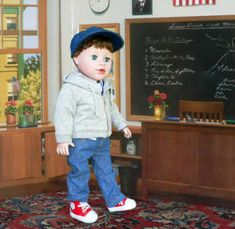 Dolls For Boys: Boy Dolls, Adorable 18 Inch Boy Doll Clothes & Accessories From Sew Dolling!