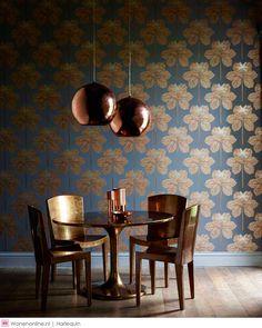 Harlequin Palmetto - een geraffineerde Harlequin collectie sfeervolle ontwerpen in tinten die tot de verbeelding spreken