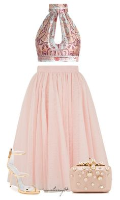 """""""Confident"""" by avonsblessing94 ❤ liked on Polyvore featuring Ted Baker, Zimmermann, Giuseppe Zanotti and Elie Saab"""