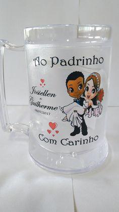 CANECAS DE GEL P/ PADRINHO/MADRINHA