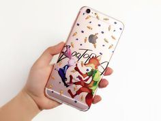 ZOOTOPIA Clear Phone Case for iPhone 6 6s plus 6 6s by MessageCard