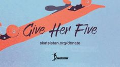 Skateistan: Give Her Five: Donate $5 to Support Girls Empowerment: Give Her Five!… #Skatevideos #Donate #Empowerment #five #girls