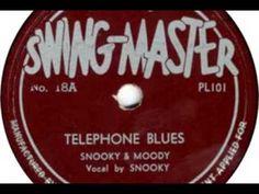 Telephone Blues, Snooky Pryor and Moody Jones #Music #Blues