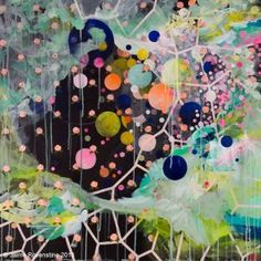 Bubbled Wallpaper, What a Mess- Jamie Rovenstine