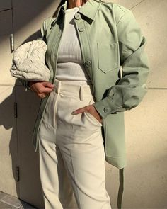 Leather Jacket Outfits, leather jacket styling guide #leatherjacketoutfit Cute Casual Outfits, Girl Outfits, Fashion Outfits, Womens Fashion, Spring Outfits, Ootd Spring, Jackets Fashion, Basic Outfits, Outfit Summer