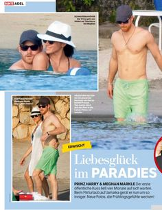 Prince Harry and Meghan Markle in Jamaica  #brf #Suits #bunte
