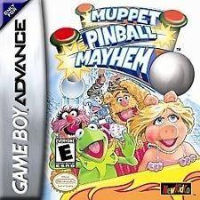 Muppet Pinball Mayhem - Game Boy Advance Game