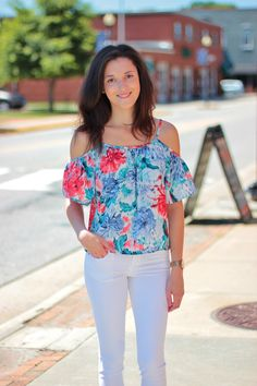 Outfit from Fedora Boutique. Cute for summer!