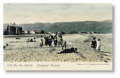 On the Beach at Somerset Strand circa 1905