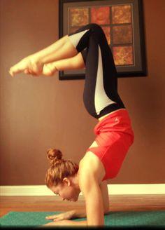 Scorpion Pose (Vrischikasana) by Jessica wood » Yoga Pose Weekly