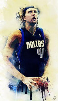 Dirk Nowitzki / Mavericks Dallas