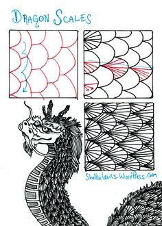 Tangle Dragon Scales