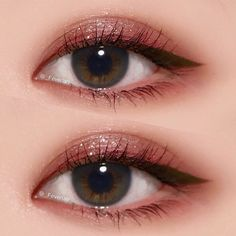 Eye makeup will enhance your beauty and also help to make you look and feel amazing. Find out how to apply makeup so that you can easily show off your eyes and impress. Discover the best tips for applying make-up to your eyes. Korean Makeup Look, Korean Makeup Tips, Korean Makeup Tutorials, Asian Eye Makeup, Cute Makeup, Makeup Art, Makeup Looks, Gold Eye Makeup, Dramatic Eye Makeup