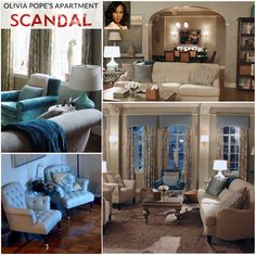 olivia pope style | Get the Look: Olivia Pope's Apartment on Scandal | So Haute Design ...