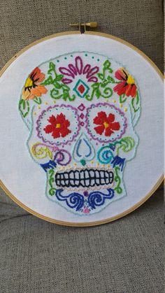 Sugar Skull/ Dia de los Muertos Art  at https://www.etsy.com/shop/MadeByKalyn?ref=l2-shopheader-name