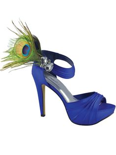Peacock Bridal Shoes