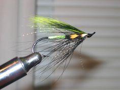 Chartreuse sqirrel spey