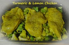 Turmeric and Lemon Chicken  Recipe