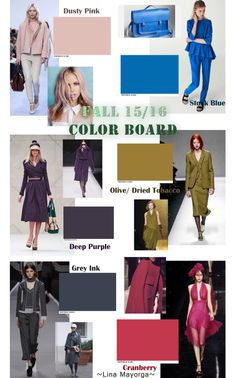 Color Board Fall 2015