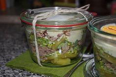 Schichtsalat Thunfisch