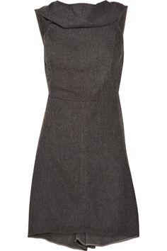 RICK OWENS Sleeveless tweed tunic $427