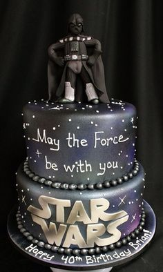Darth Vader Cake Decoration