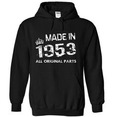 !!! Made in 1953 !!# #Tshirt #fashion