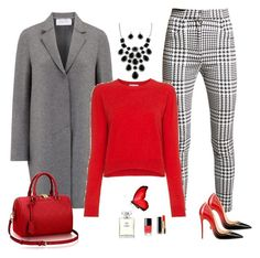 """""""Just for Me"""" by carolannstyle on Polyvore featuring Harris Wharf London, Balmain, Alexandra Golovanoff and Chanel"""