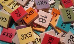 Biderketa taulak ikasteko 40 jolas (ordenadorekoak) » matematiketan.eus Barware, Coasters, Coaster, Tumbler