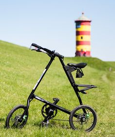 my strida mas in ostfriesland. dirkkraehmer.de folding bike
