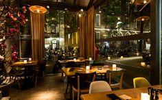 Restaurant Jackson Dubois in Amsterdam is sfeervol ingericht