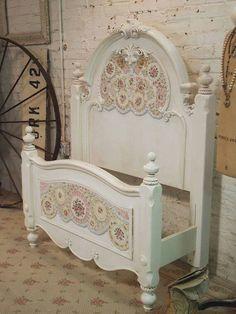 kids room mosaic headboard bed for a dream pretty princess bedroom