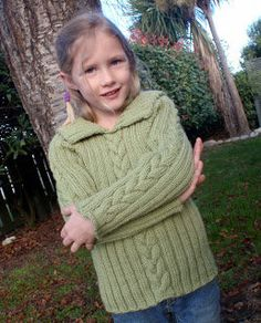 Free Knitting Pattern - Toddler & Children's Clothes: Ash Pullover