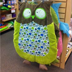 Owl play mat for baby Want to make for baby shower