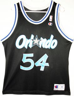 Champion NBA Basketball Orlando Magic #54 Horace Grant Trikot/Jersey Size 40 - Größe M - 59,90€ #nba #basketball #trikot #jersey #ebay #sport #fitness #fanartikel #merchandise #usa #america #fashion #mode #collectable #memorabilia #allbigeverything
