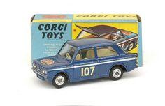 "Mettoy Corgi Toys No.328 Hillman Imp ""Rallye Monte Carlo"" 1966-67"