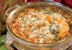 Creamy, Dreamy, Spinach, Onion, and Bacon Dip....This is an amazing dip!  I make it with a few changes.  I add 3 or 4 cloves of minced garlic and only 2 packages of cream cheese.