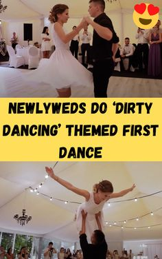 It is everybody's dream to have a memorable first dance with their partner at a wedding.