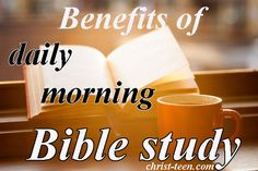 Benefits of Daily Bible Study