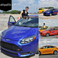 Ford EcoBoost challenge and Fiesta ST race #FordTX